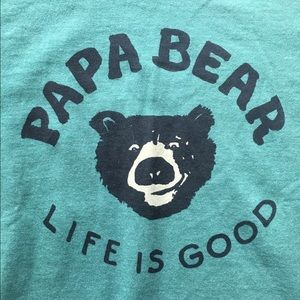 08422e0addd Life Is Good Shirts - LIFE IS GOOD Papa Bear Long-sleeve T-Shirt